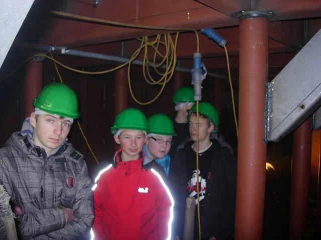 Im Schiffsrumpf - wird dann für die Stabiltät im Einsatz mit Wasser gefüllt