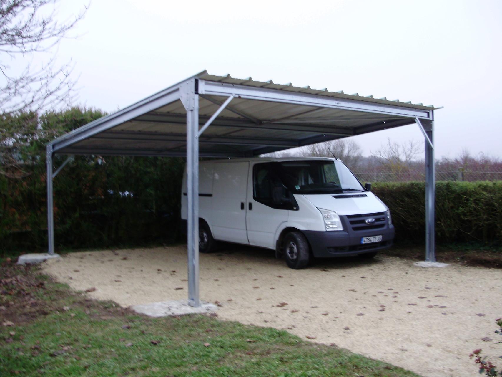 Abris 1 pente abrikit abri modulaire en kit - Abri camping car en kit ...