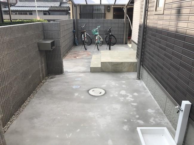 コンクリートの土間