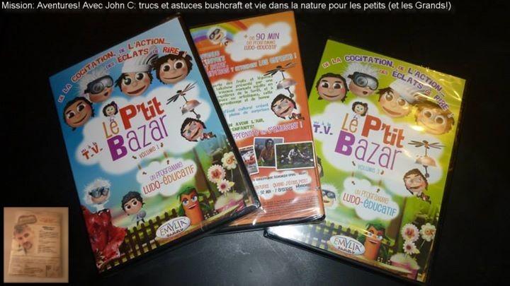 Retrouvez John C dans Mission: Aventures dans les DVD du P'tit Bazar!