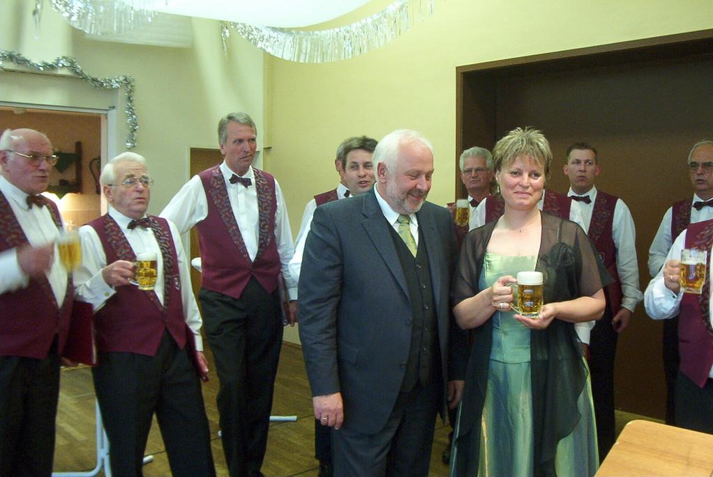 2003 Christian und Regina  Jedamski - Silberne Hochzeit