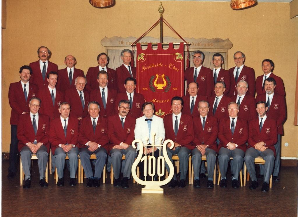 Nordheide-Chor 1995 100-jähriges Jubiläum
