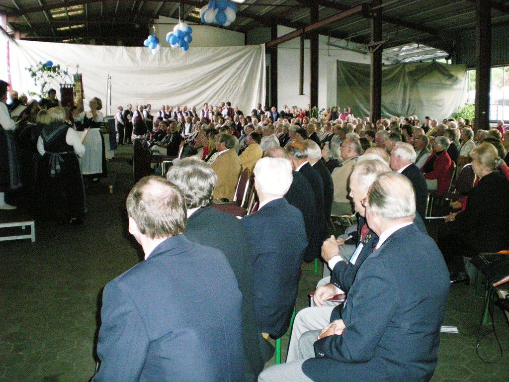 Sängerfest der Heideblume 2009 - Halle Schlichting