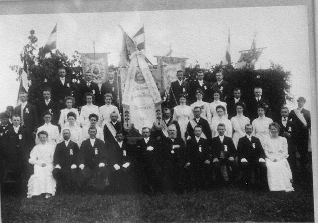 Fahnenweihe 1910