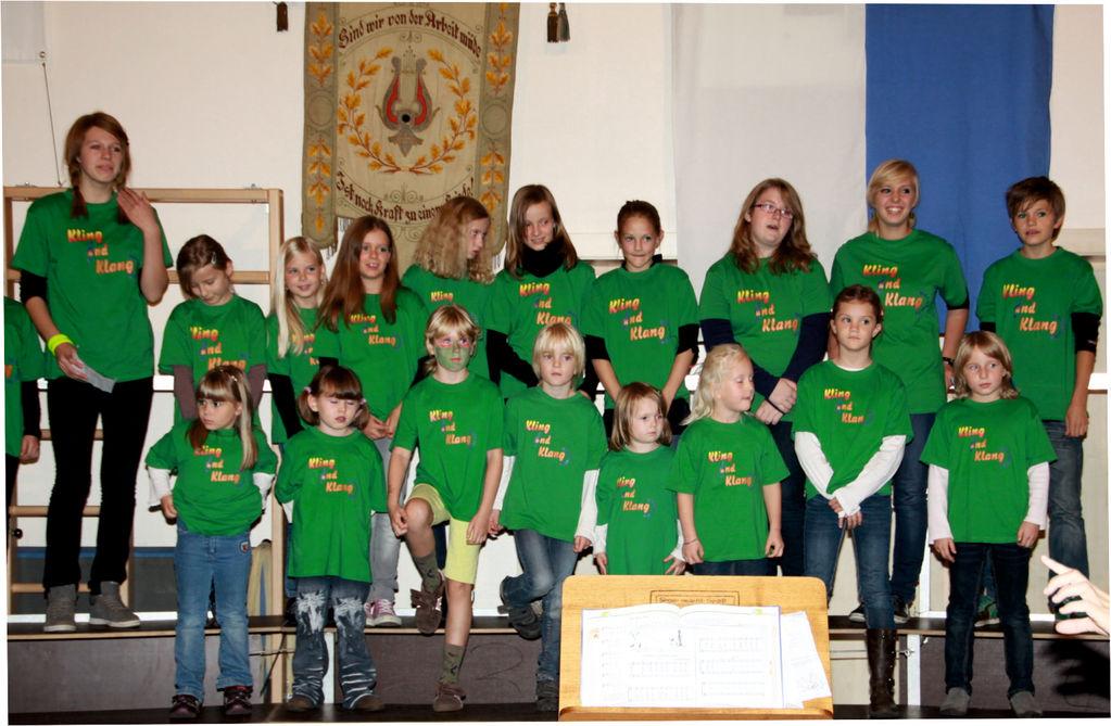 """Herbstkonzert 2011 Kinder- Und Jugendchor """"Kling und Klang"""""""