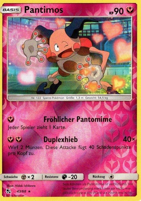 40//68 Pixi Verborgenes Schicksal Pokemon