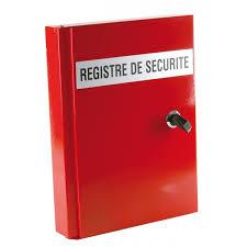 Registre de sécurité incendie et signalétique incendie