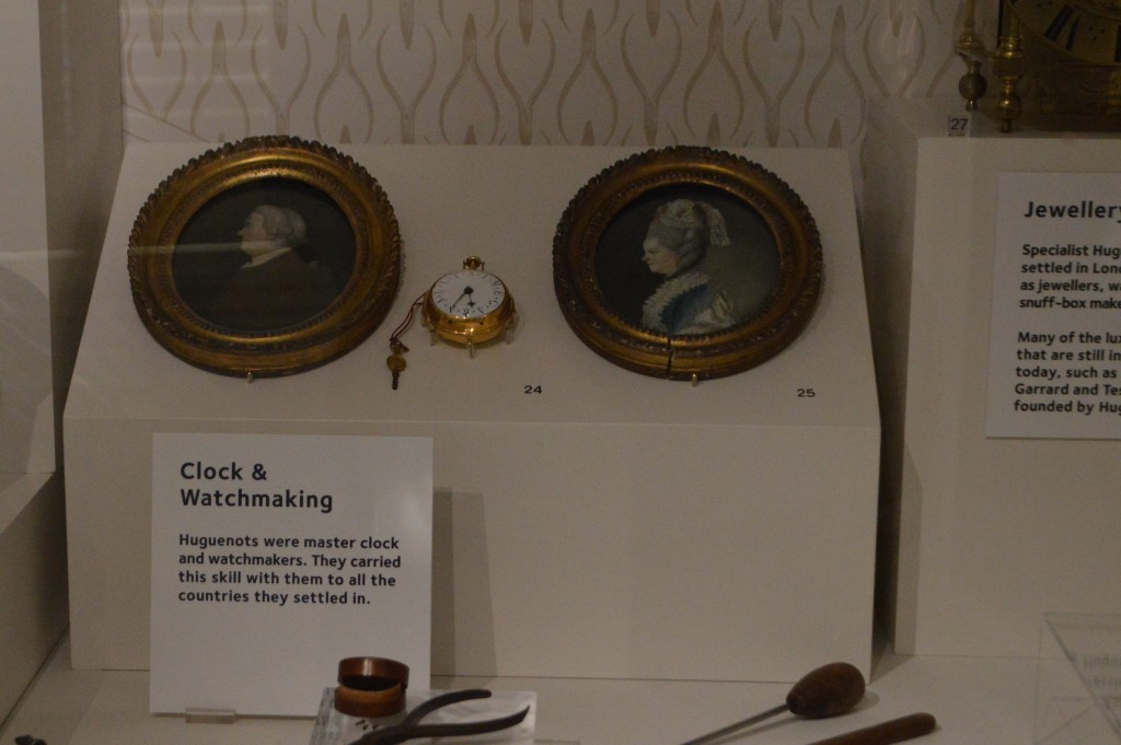 Porträtbilder der Uhrmacherfamilie Garnault
