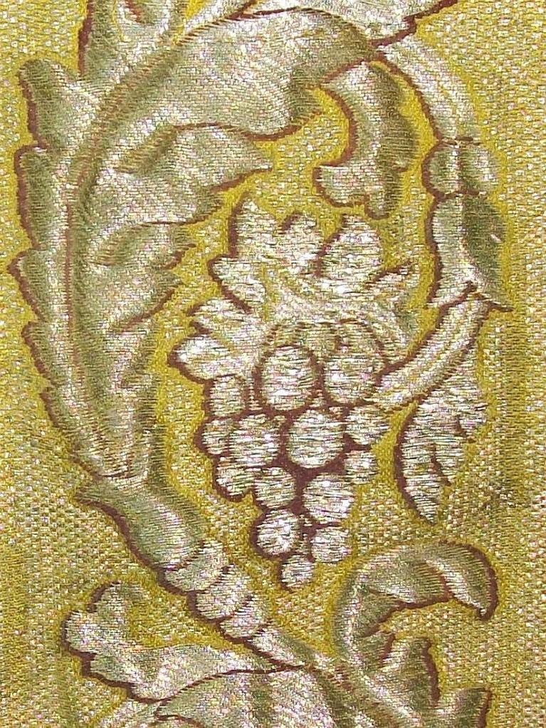 Silberbrokat