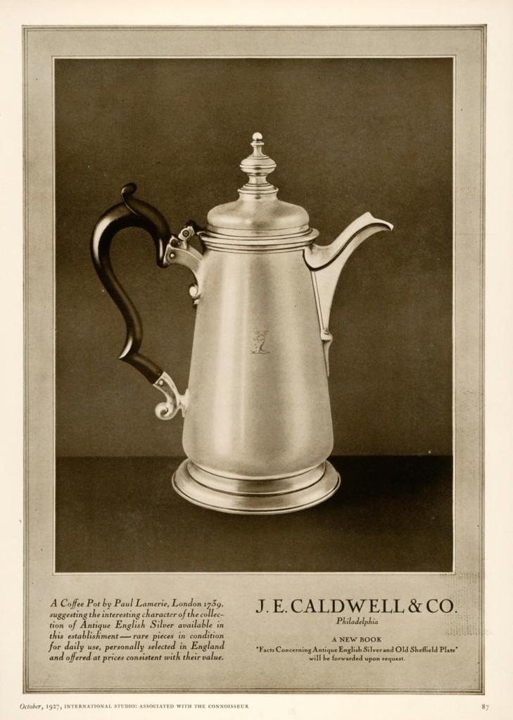 Silberkanne von Paul de Lamerie
