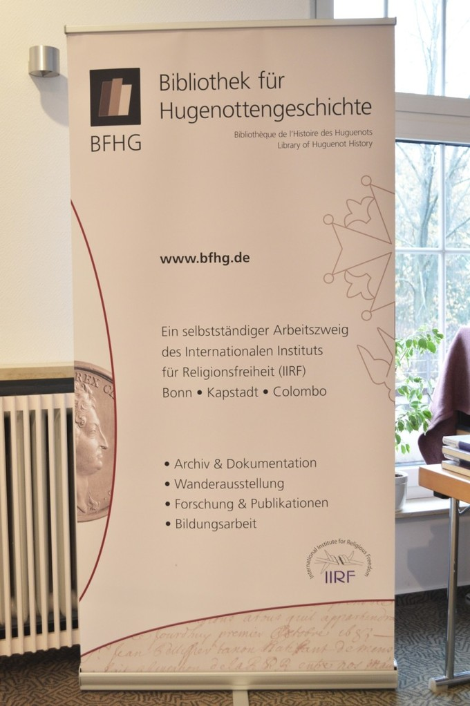 Roll-Up der BFHG / © BFHG