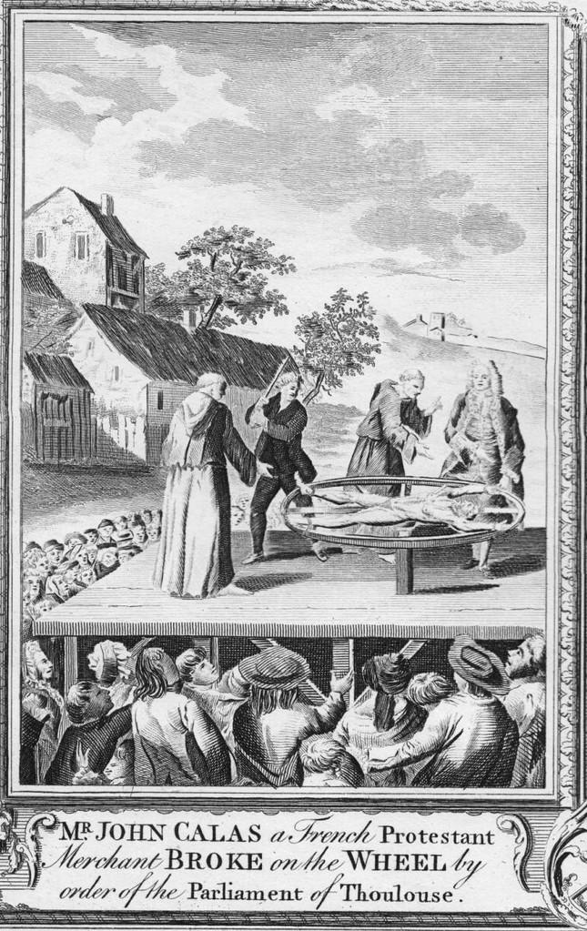 Hinrichtung von Jean Calas
