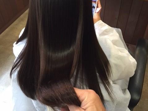 新宿区 神楽坂 江戸川橋 縮毛矯正 ストレート 髪質改善