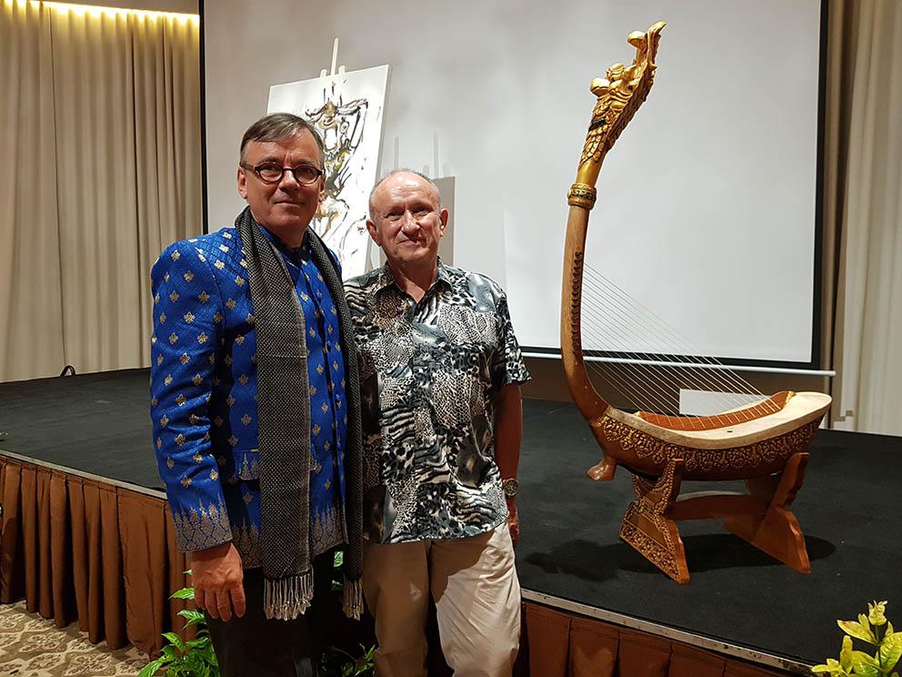 Patrick Kersalé and Philippe Brousseau (Jayav Art)