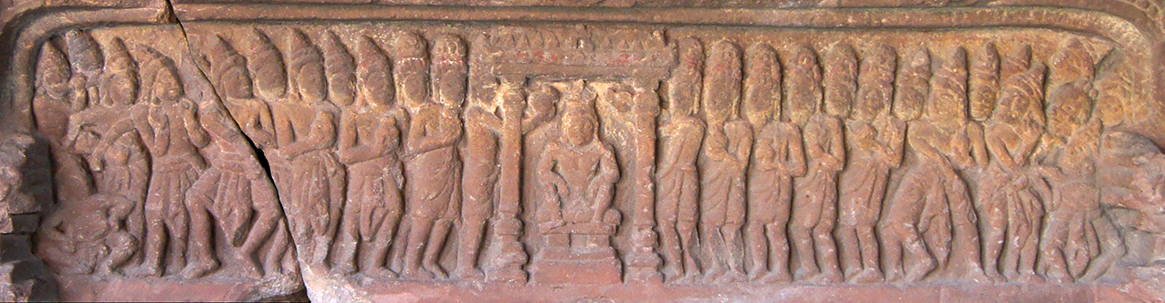Lintel of Wat Ang Khna, Sambor Prei Kuk. 7th c.