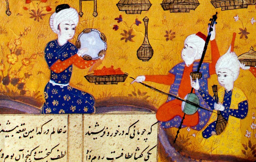 Trio mugam Azerbaijani. 16th century.