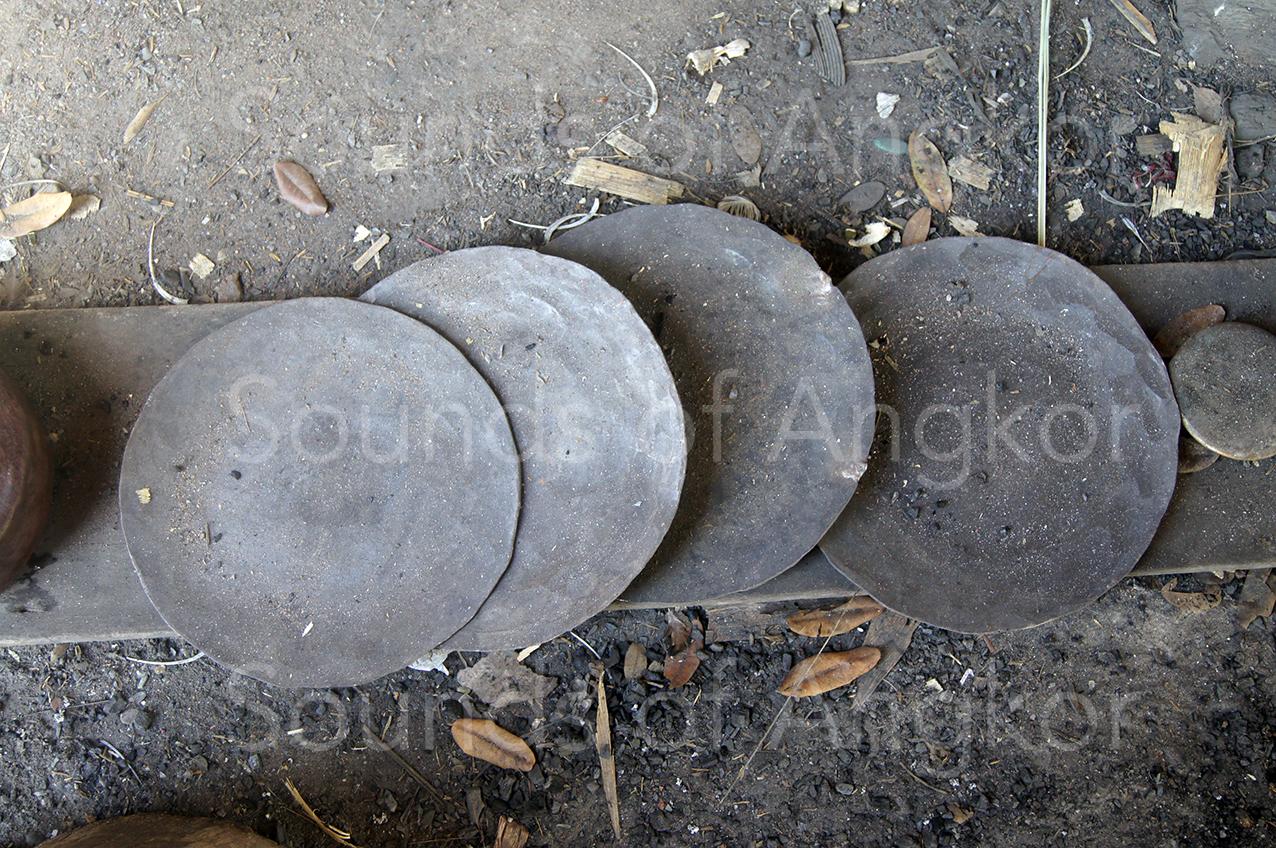 Galettes de bronze.