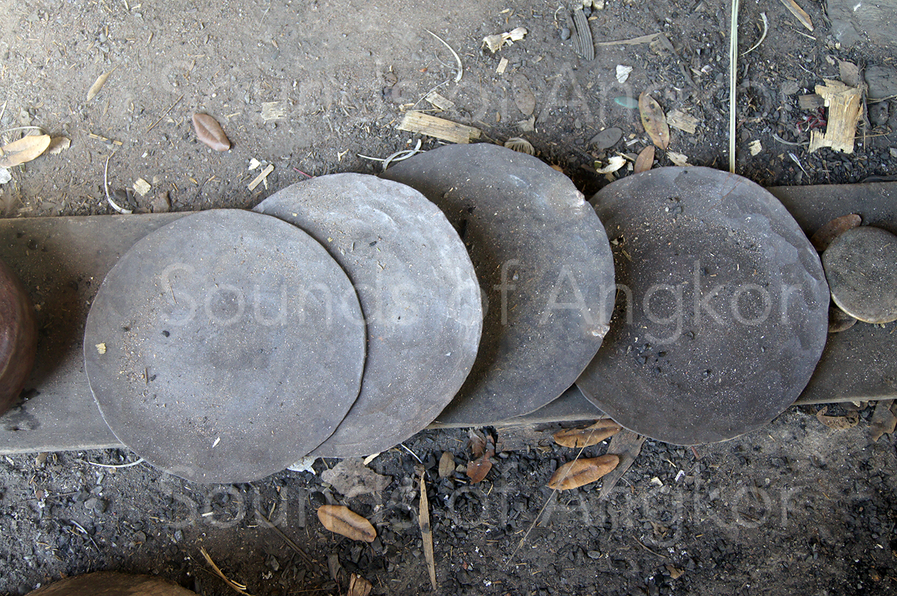 Bronze wafers.