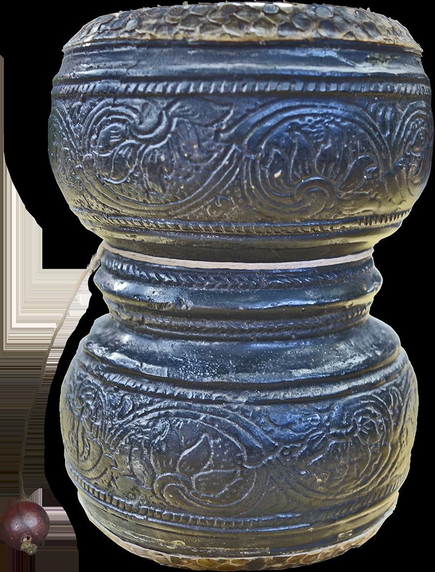 Fac-similé. Maître d'œuvre/ouvrage : P. Kersalé. Fondeur : Sopheap Khmer. Membranes : Theam Nga. Siem Reap, 2016.