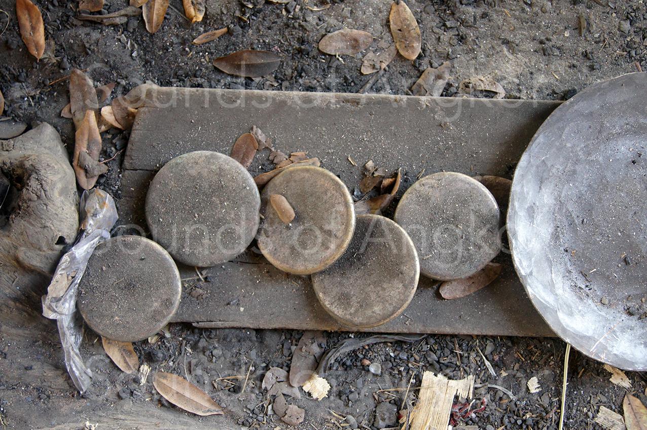 Bronze ingots.