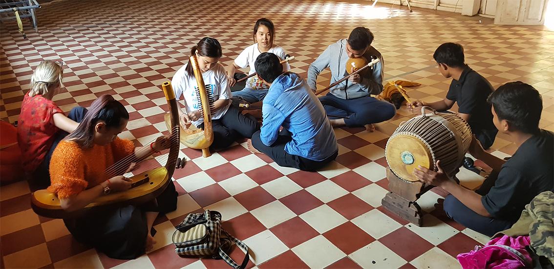 Sounds of Angkor Academy. 23/02/2019