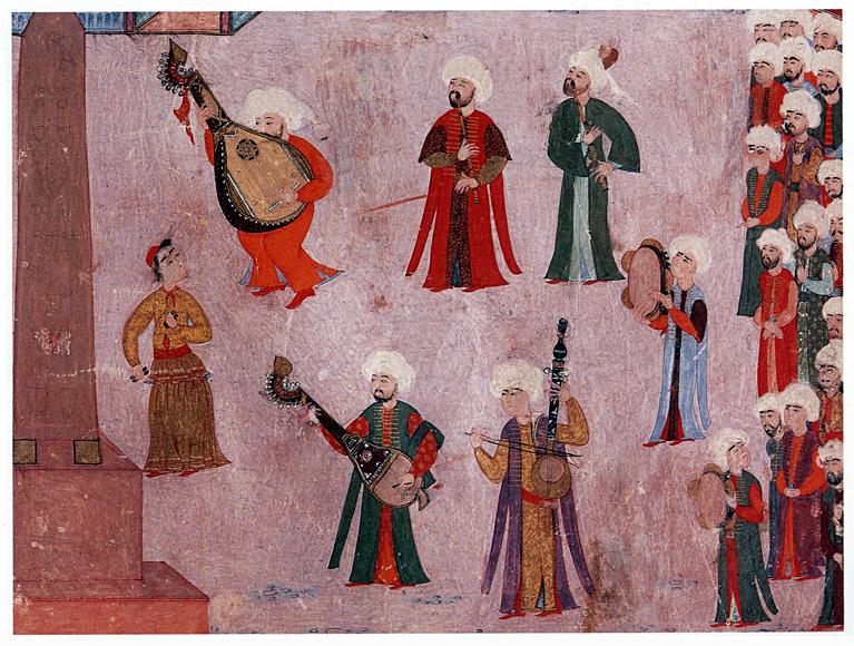 Musiciens ottomans.