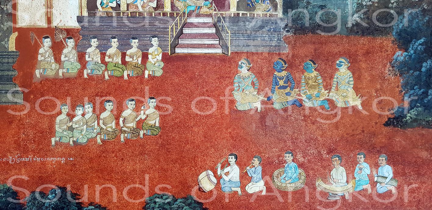 Pin peat. Palais royal de Phnom Penh après restauration. Nov. 2019.