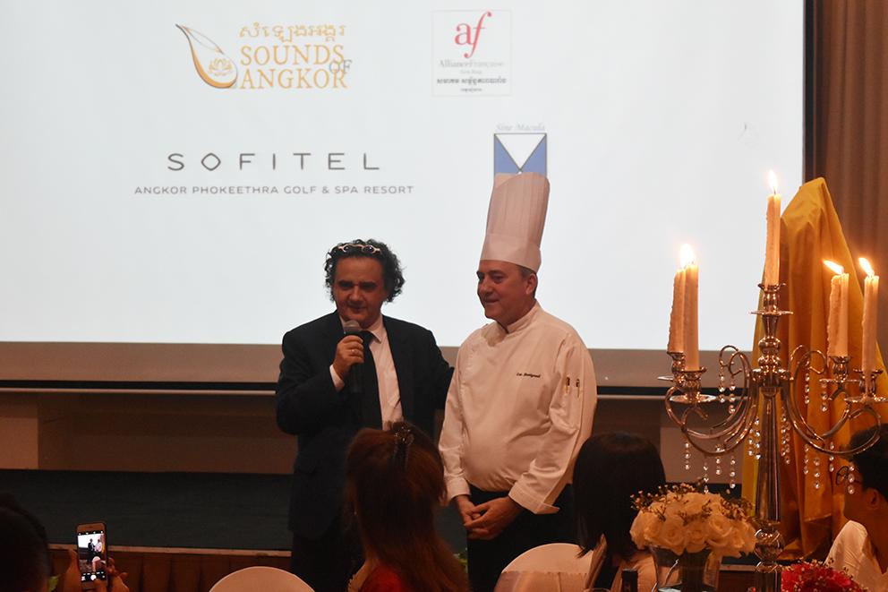 Serge Bellini & Chef Éric Berrigaud.