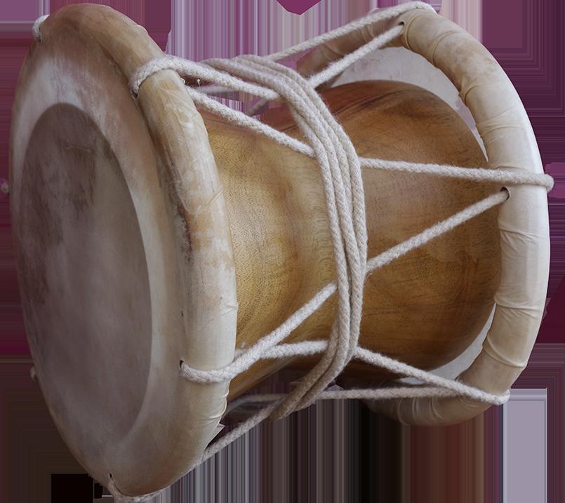 Edakka drum. Project manager: Patrick Kersalé. Maker: Nga Thean. Siem reap 2018.