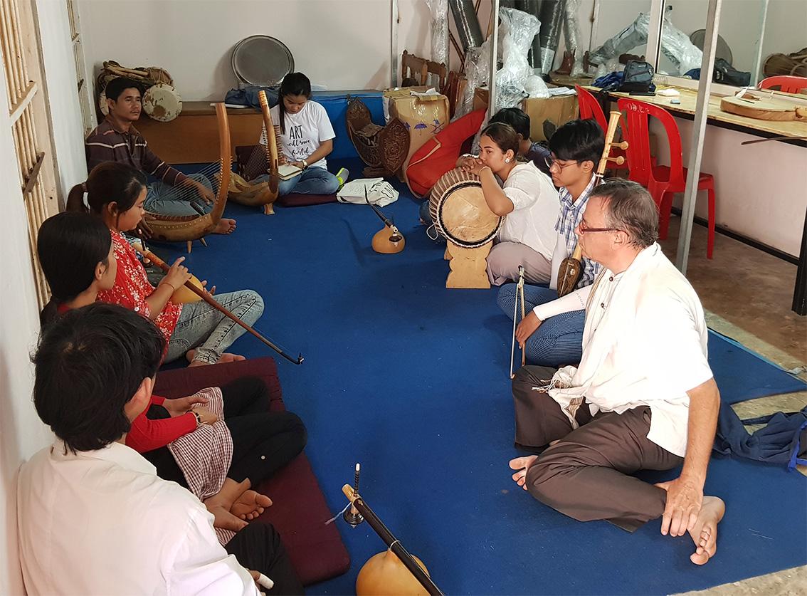 Sounds of Angkor Academy. 22/12/2019