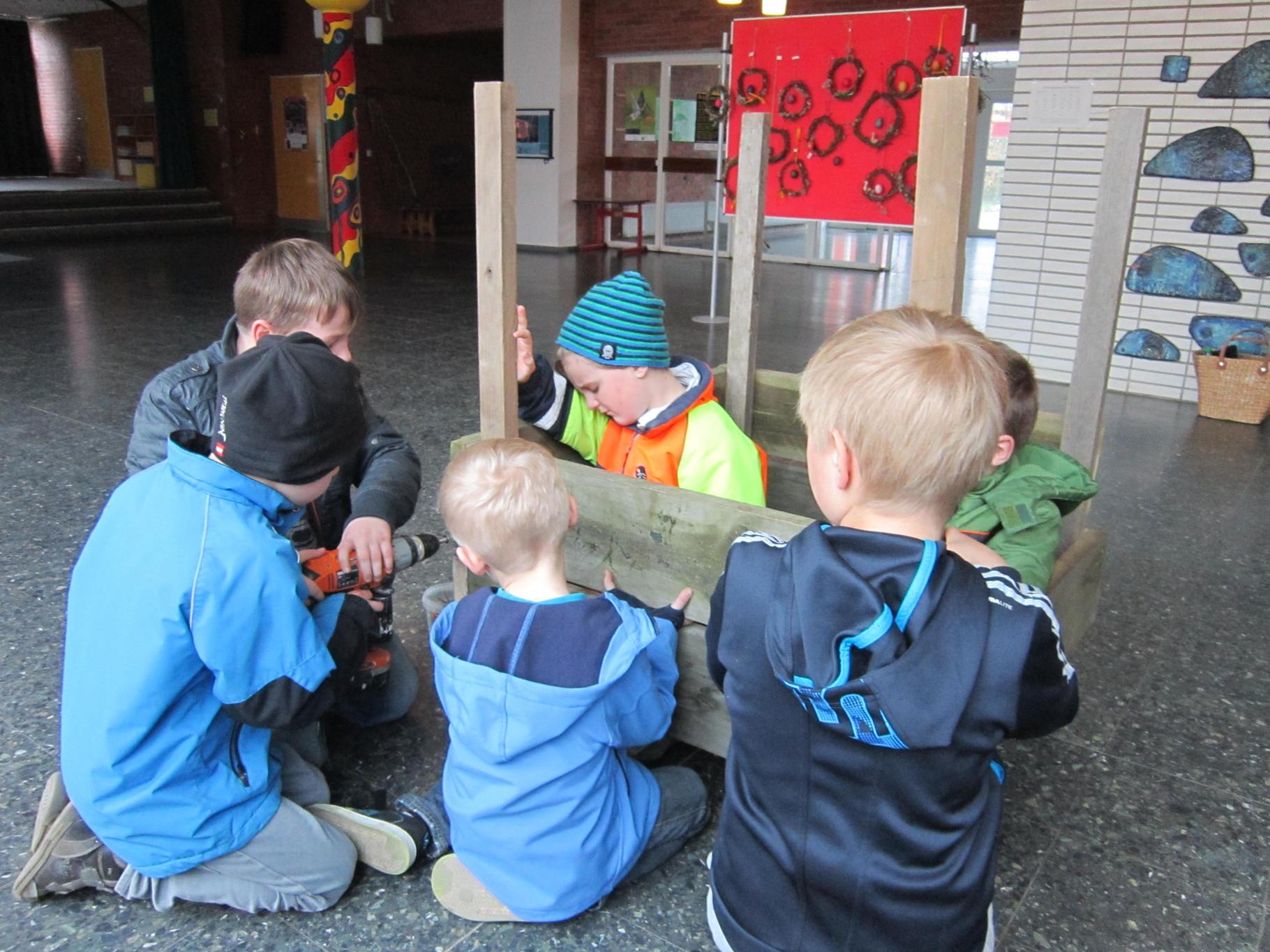 Projekttage März 2014 Grundschule Sietland