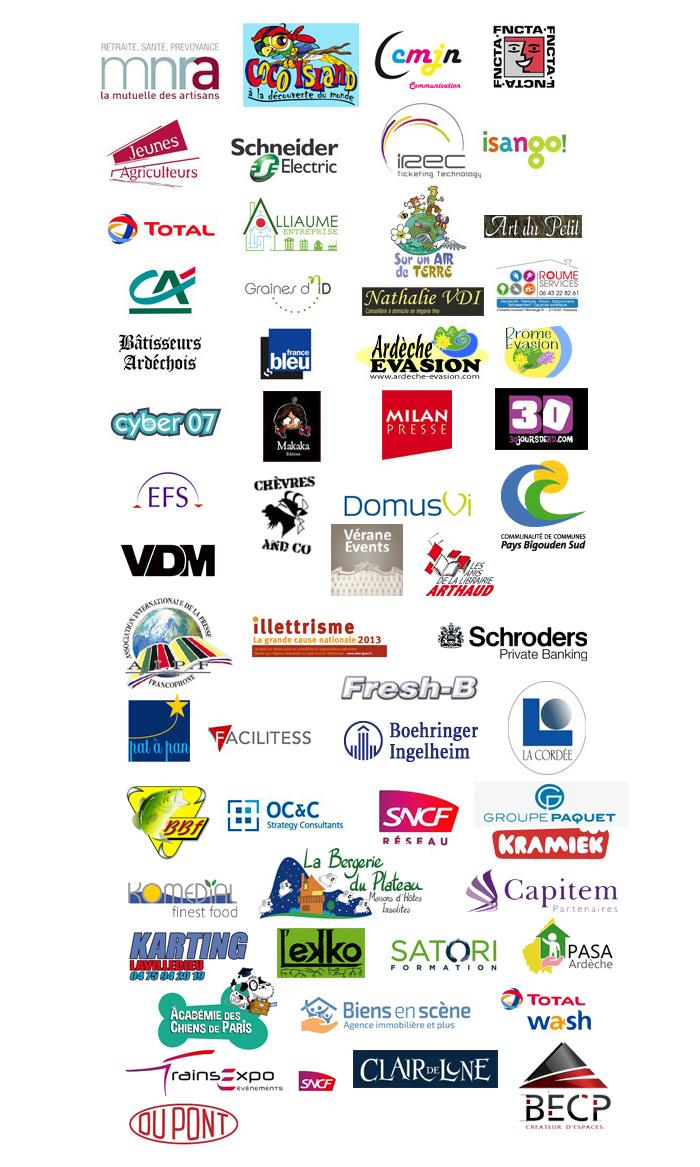 Olivier Tichit - Quelques logos de mes clients