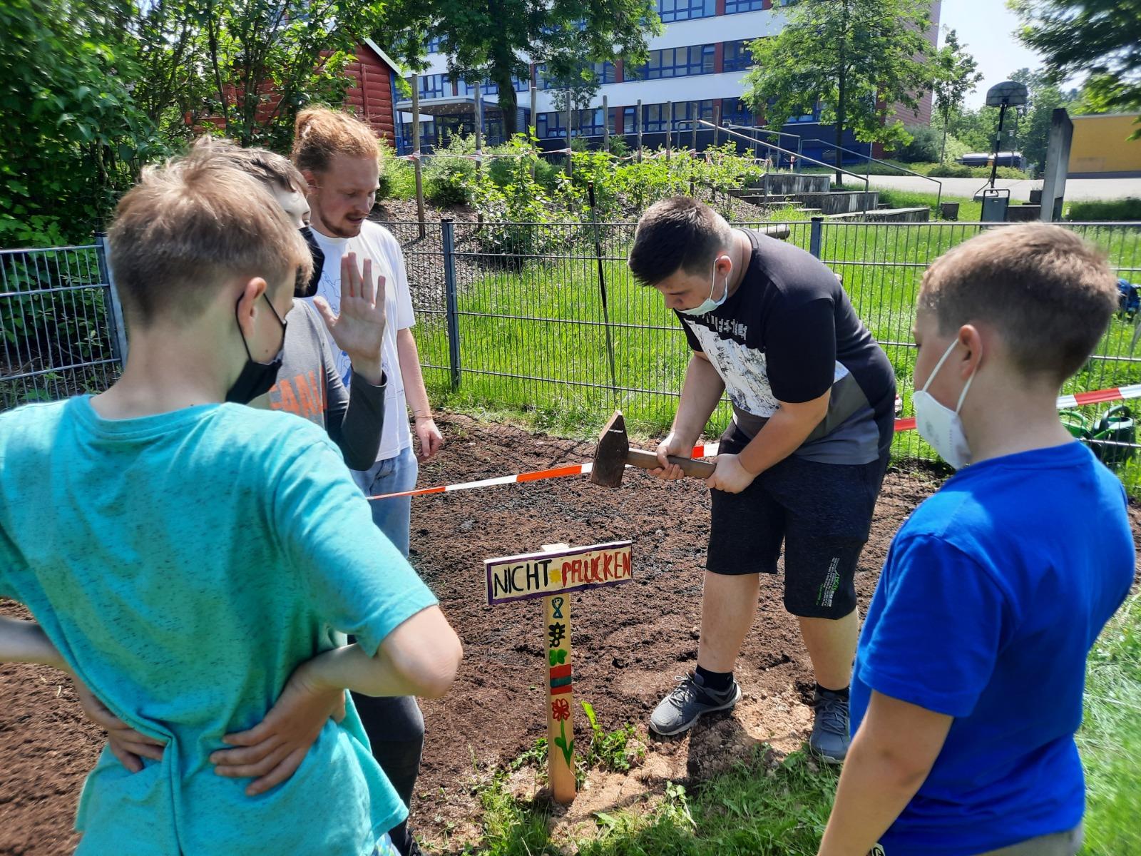 "Projekt ""Blühwiese"" im FSJ Pädagogik 2020/2021"