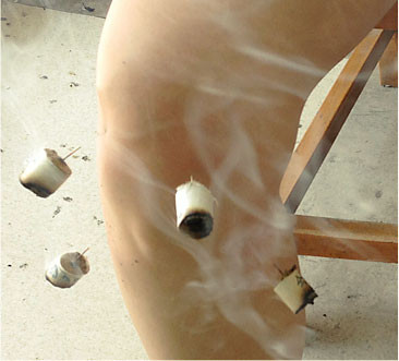 acupuncture couplée à la moxibustion