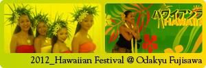 ハワイアンフェスティバル2012_小田急百貨店 藤沢店