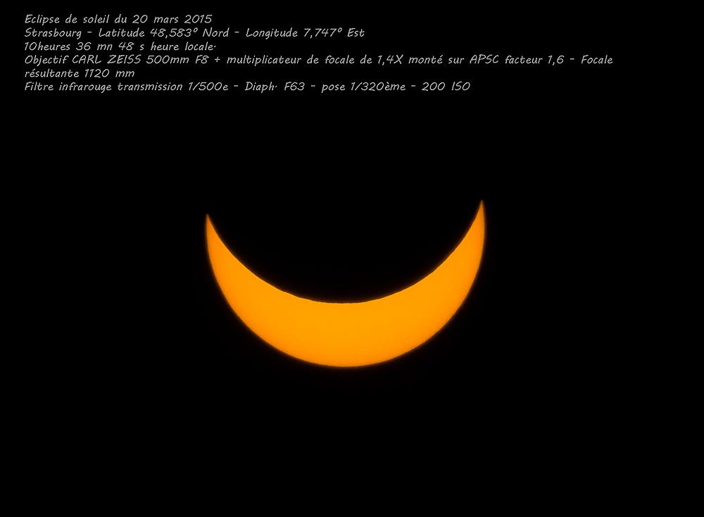 Eclipse partielle du soleil du 20 mars 2015