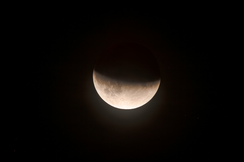Eclipse partielle de lune du 16 juillet 2019 _ 840mm EOS APSC HDR