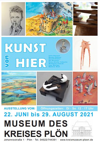 06/2021 Ausstellung vom 22. Juni bis 29. August: