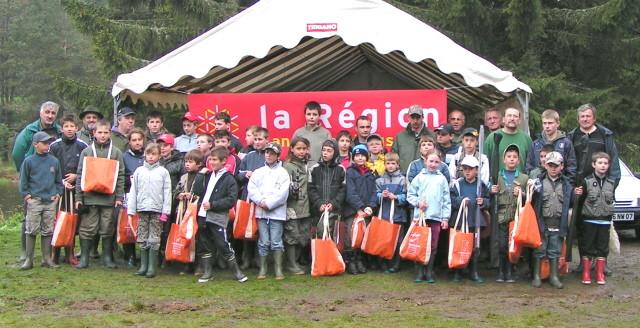 Le concours des écoles de pêche