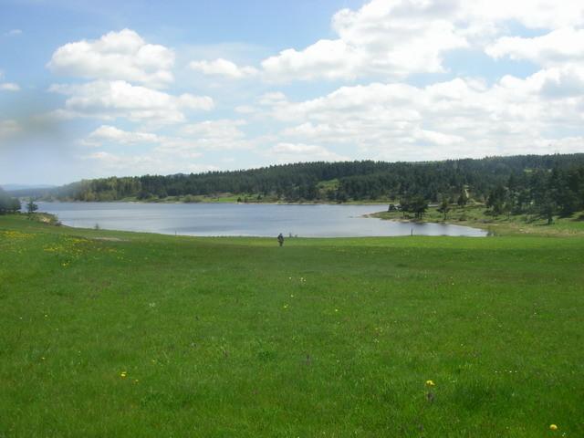 Mon lac préféré ...Naussac .