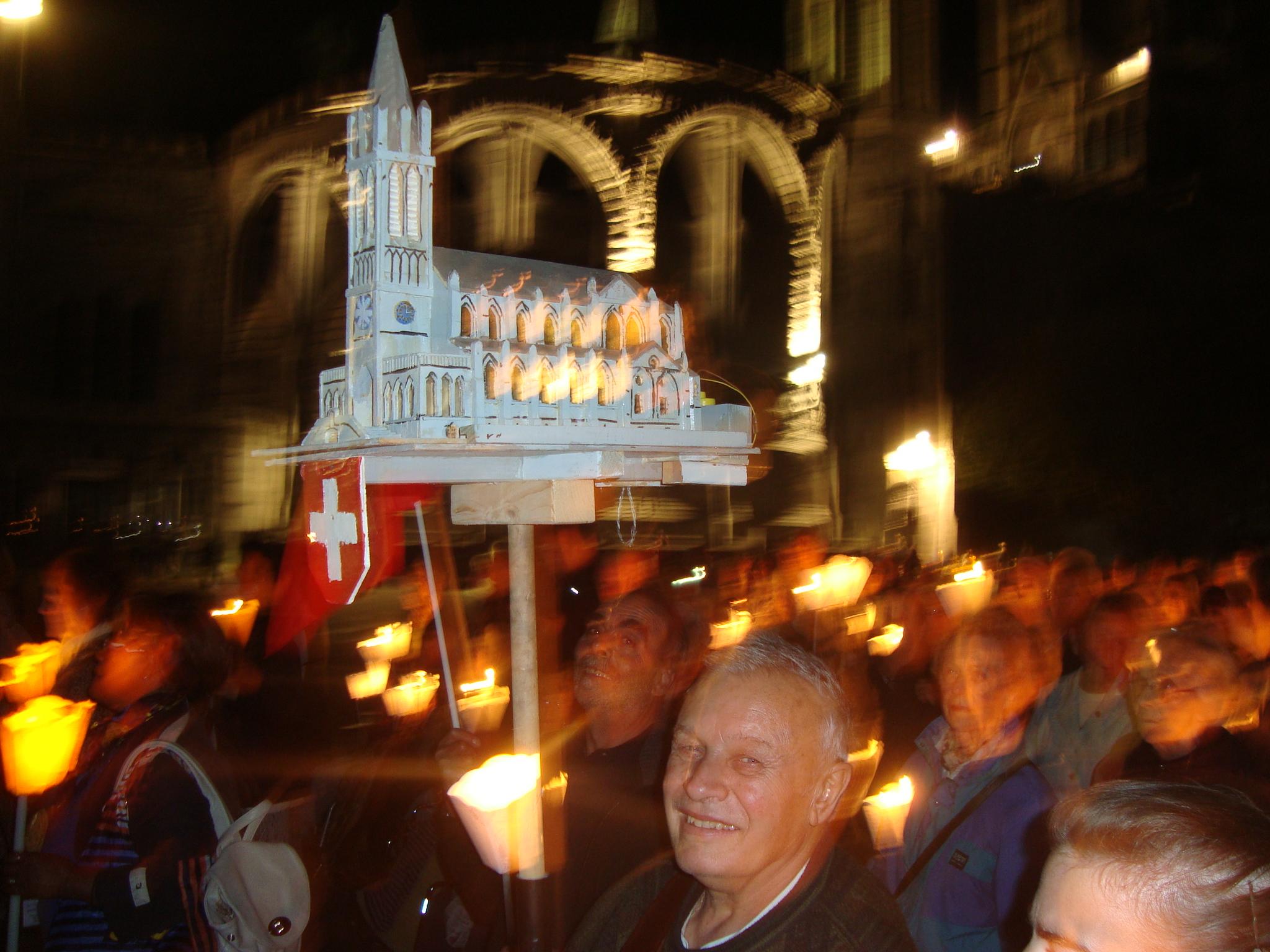 Lichterprozession Lourdes