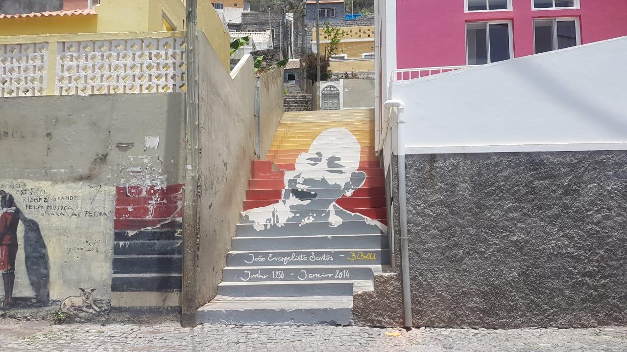 Treppenmalerei