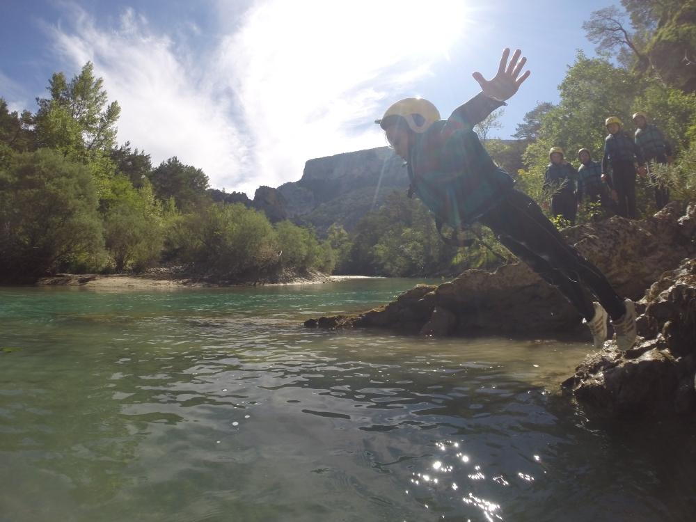 Le canyon du Verdon, les enfants vont adorer...