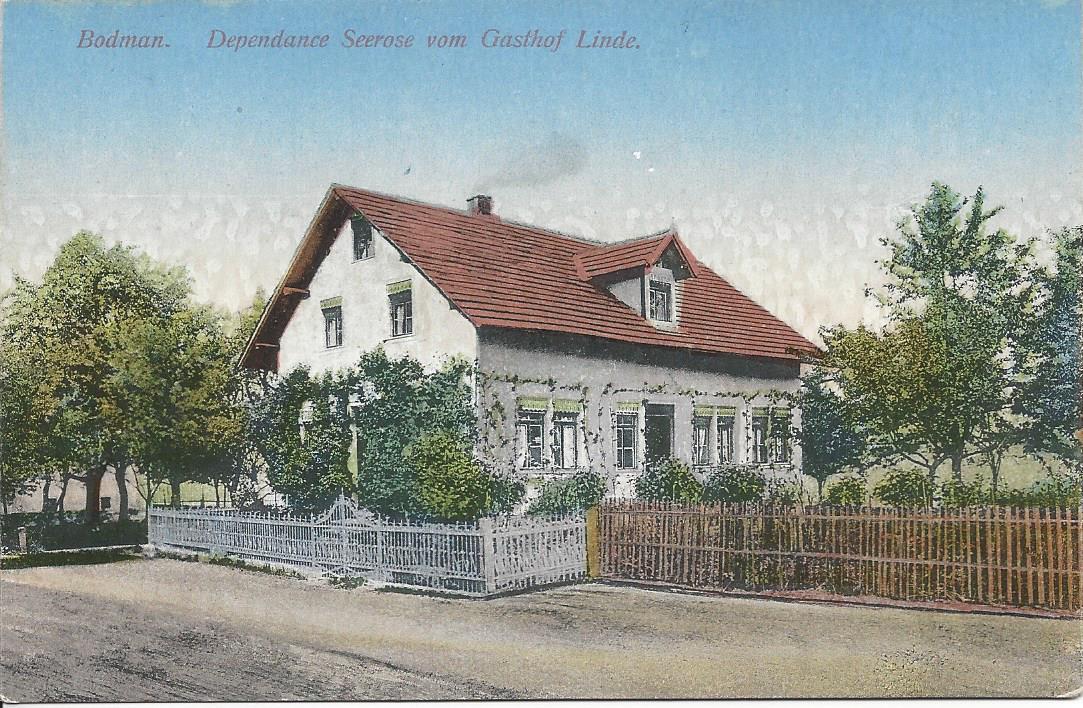 Hotel Sommerhaus ehemals Gasthaus Seerose