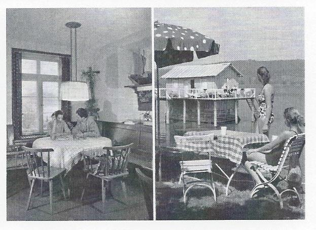 Alter Hotelprospekt