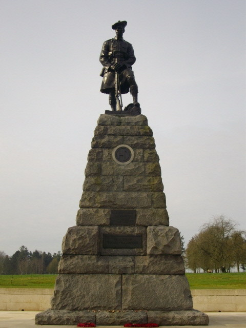 Beaumont-Hamel 51st Highland Division Memorial