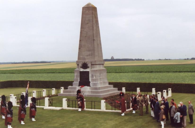 Pozières 1st Australian Division Memorial