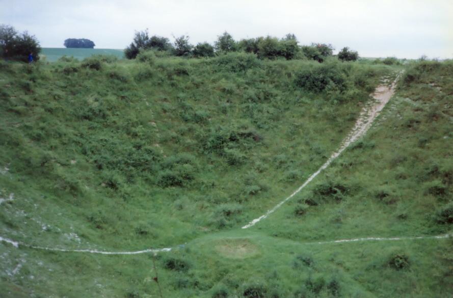 La Boisselle Lochnager Crater