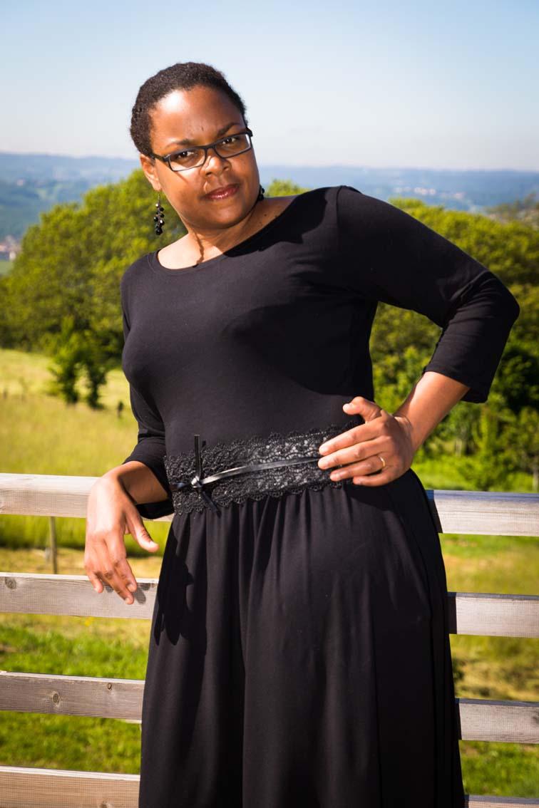 robe monéta colette patterns avec une ceinture à la taille