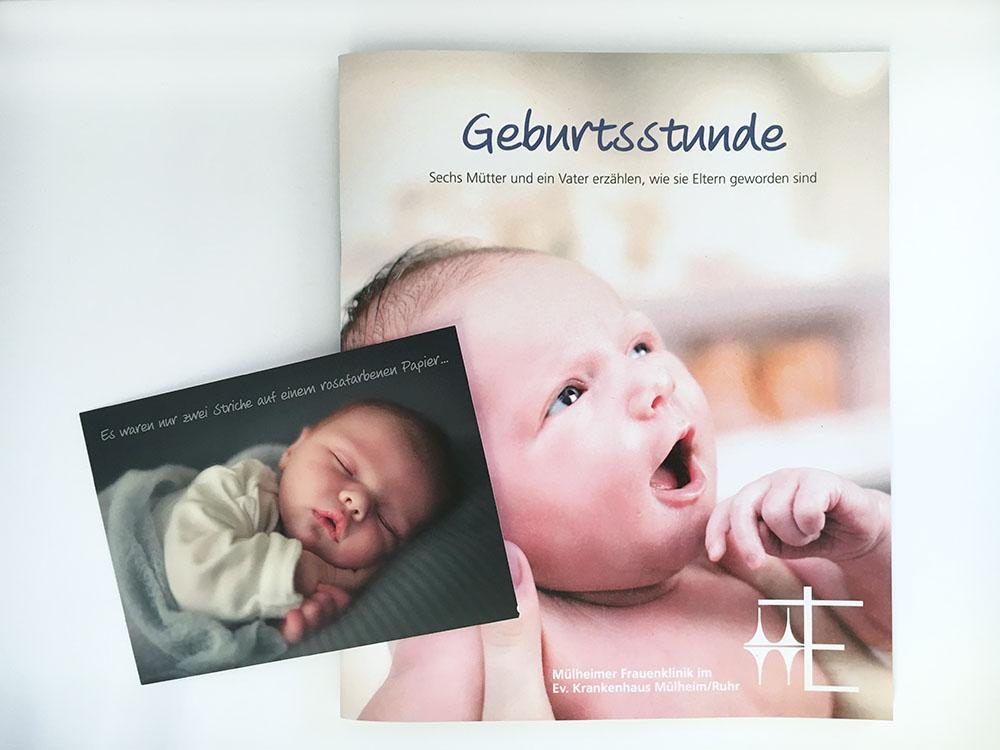 Broschüre und Postkarte I Evangelisches Krankenhaus Mülheim an der Ruhr
